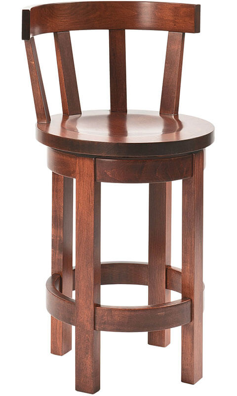 RH Yoder Barrel Barstool with Meribeth Top