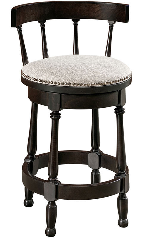 RH Yoder Cosgrove Barstool with Easton Top