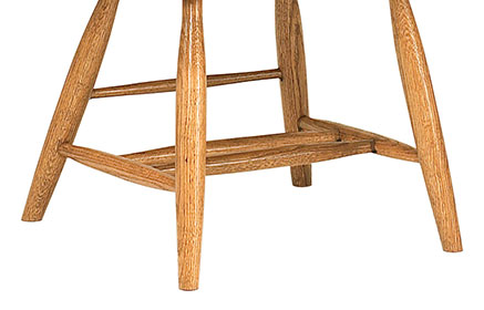 RH Yoder Optional Plain Chair Legs