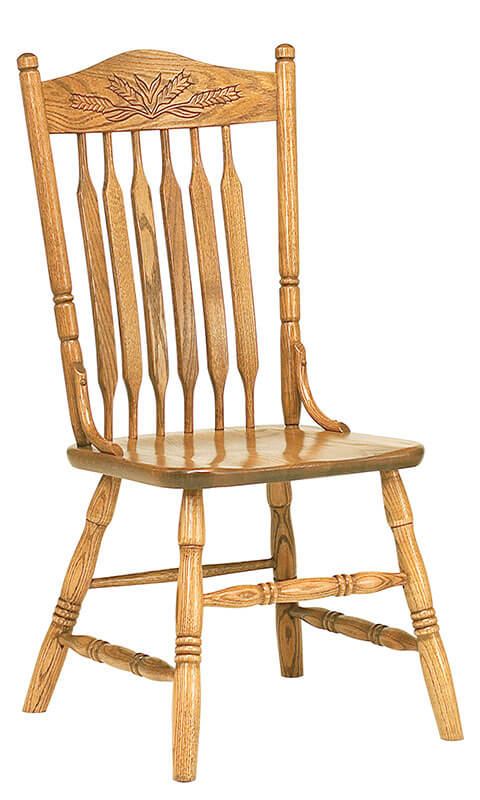 RH Yoder Bent Paddle Post Side Chair