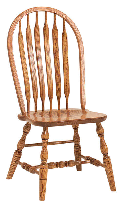 RH Yoder Bent Paddle Side Chair