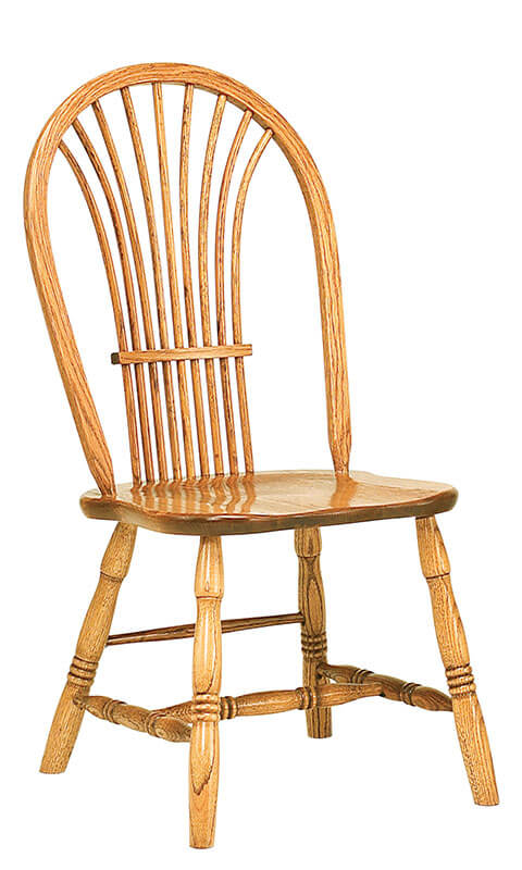 RH Yoder Country Sheaf Side Chair